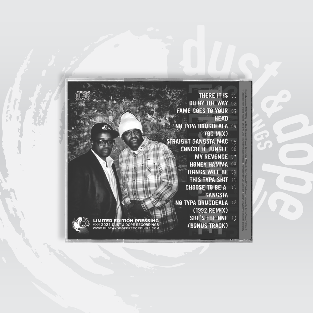 DJ Quicksilver Cooley Presents 'Things Will Be' featuring Black A.G. CD [DDR008-400-CD]