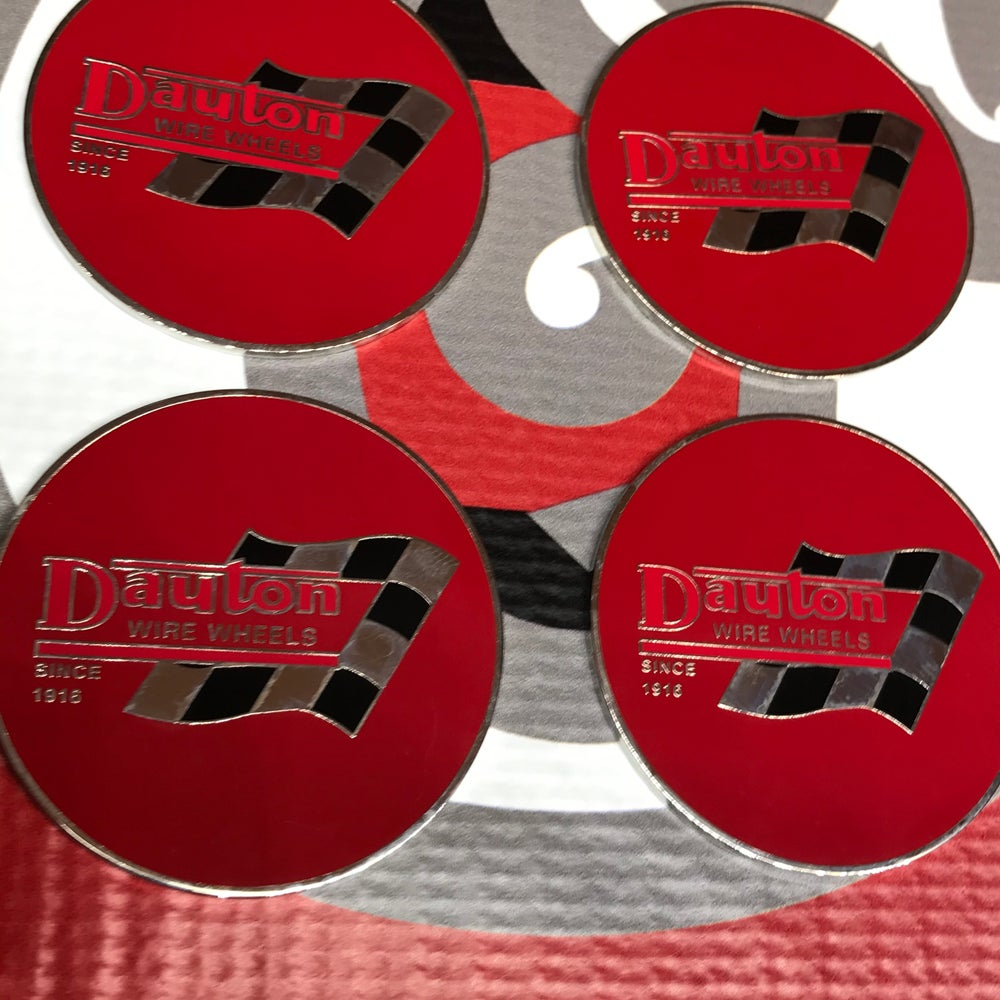 Image of Red Dayton flag chips