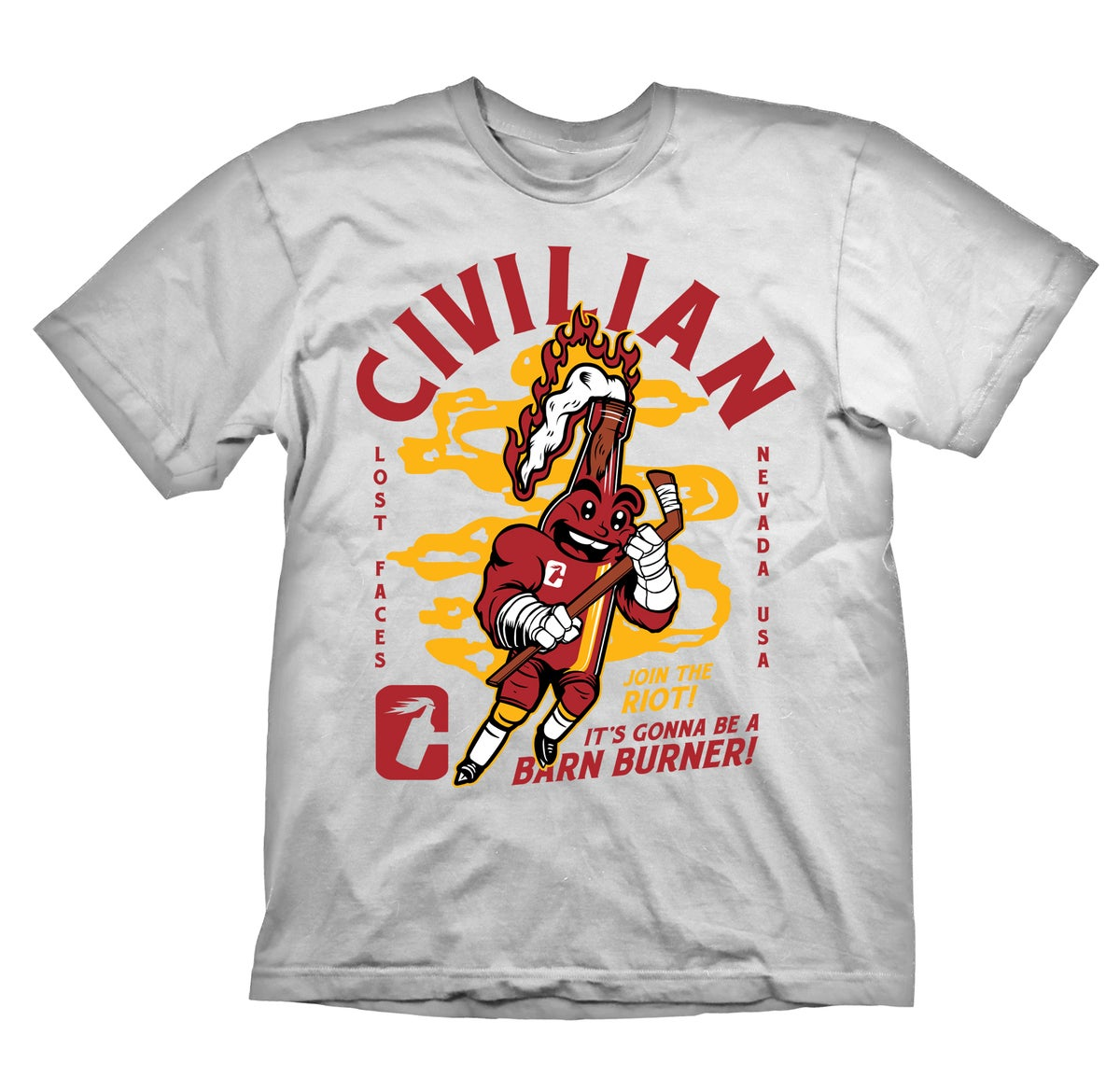 **PRESALE** Barn Burner White tee