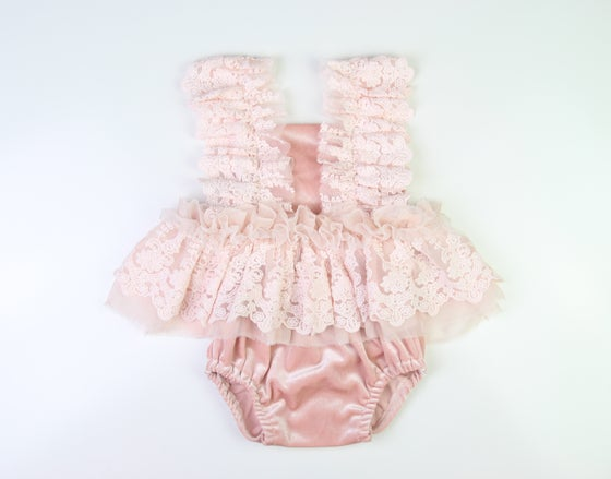 Image of Soft Pink Sitter Set - one of a kind!