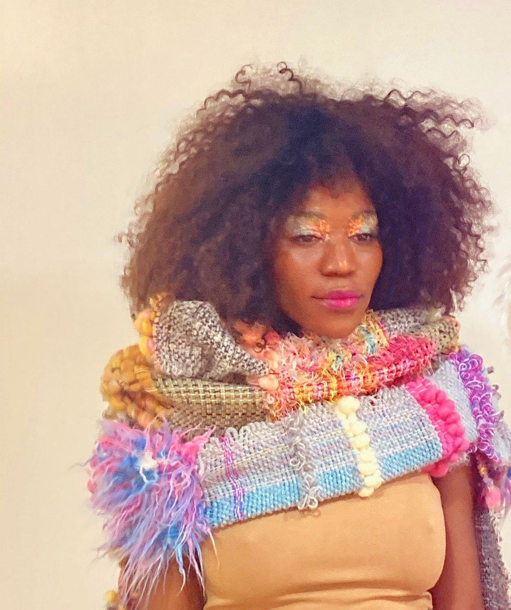 Image of Bufanda Tejewave Colorista