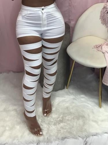 "Image of ""Mummied"" Bandage Pants"