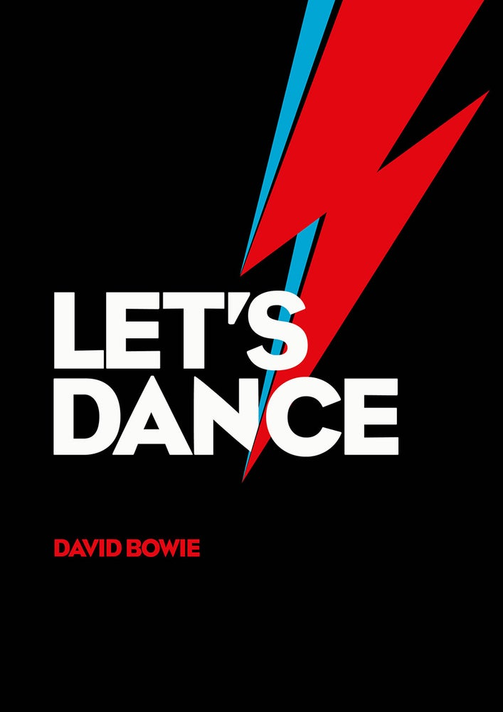 Image of David Bowie Poster - Let's Dance!