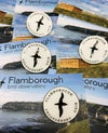 Flamborough Bird Observatory Pin Badge