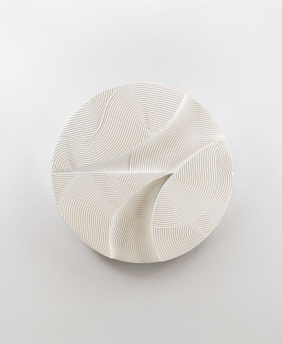 Image of White Sphere · Relief No. 3 (sold)