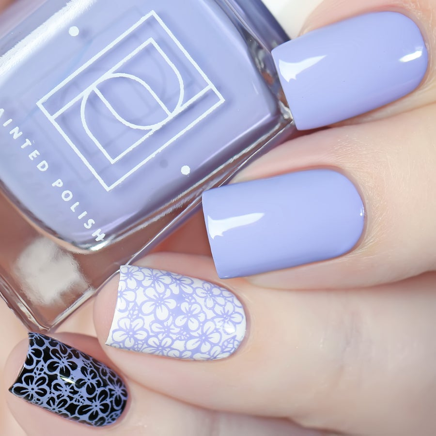 Image of Stamped in Periwinkle