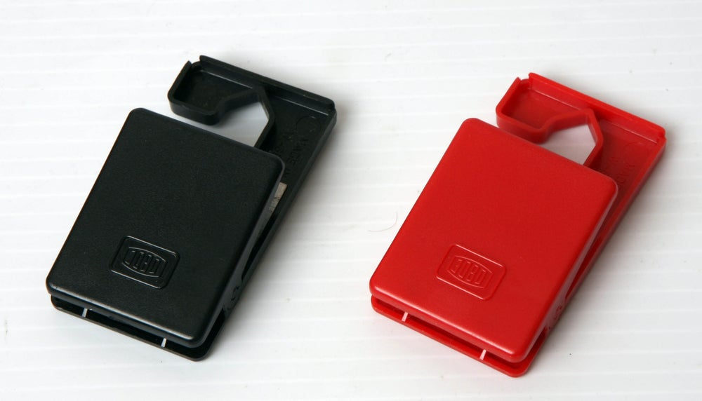 Image of Jobo 3312 film hanger clips PAIR (one weighted, one non weighted)