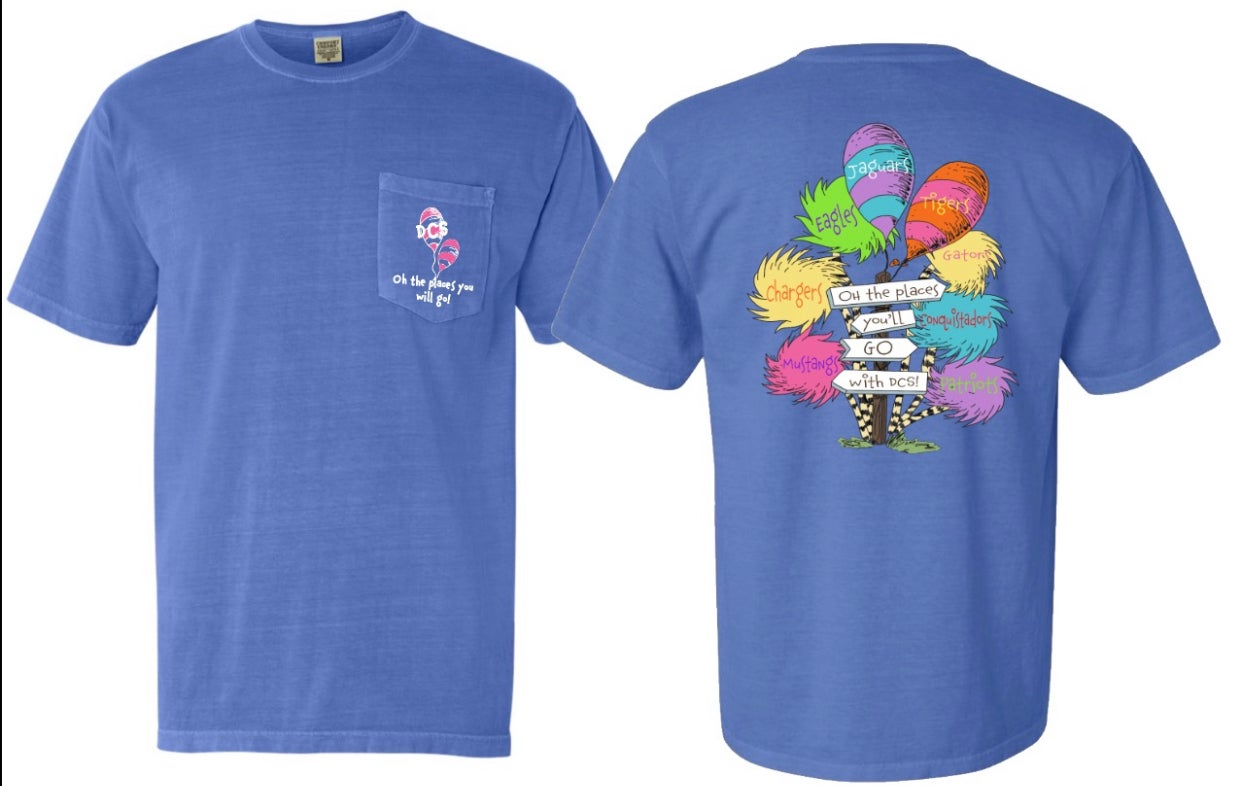 Image of Oh The Places You Will Go - #TeamDCS Short Sleeve