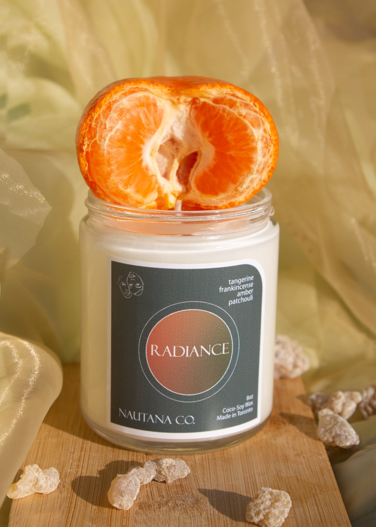 Image of Radiance - Tangerine, Patchouli & Frankincense Candle