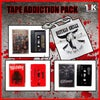 TAPE ADDICTION EXCLUSIVE PACK with Buffalo Grillz + Intolerant + Coffin Birth