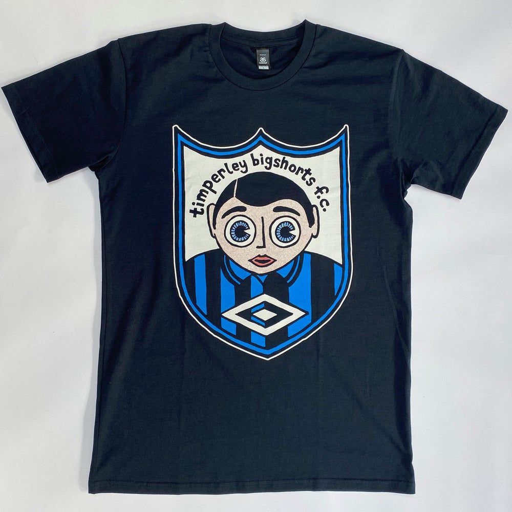 Image of 'Deluxe' Timperley Bigshorts squad t-shirt - Away
