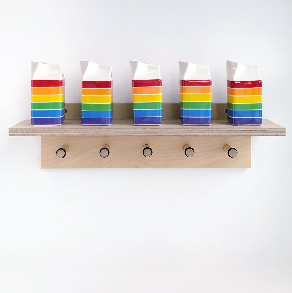 Image of Rainbow Milk Jug