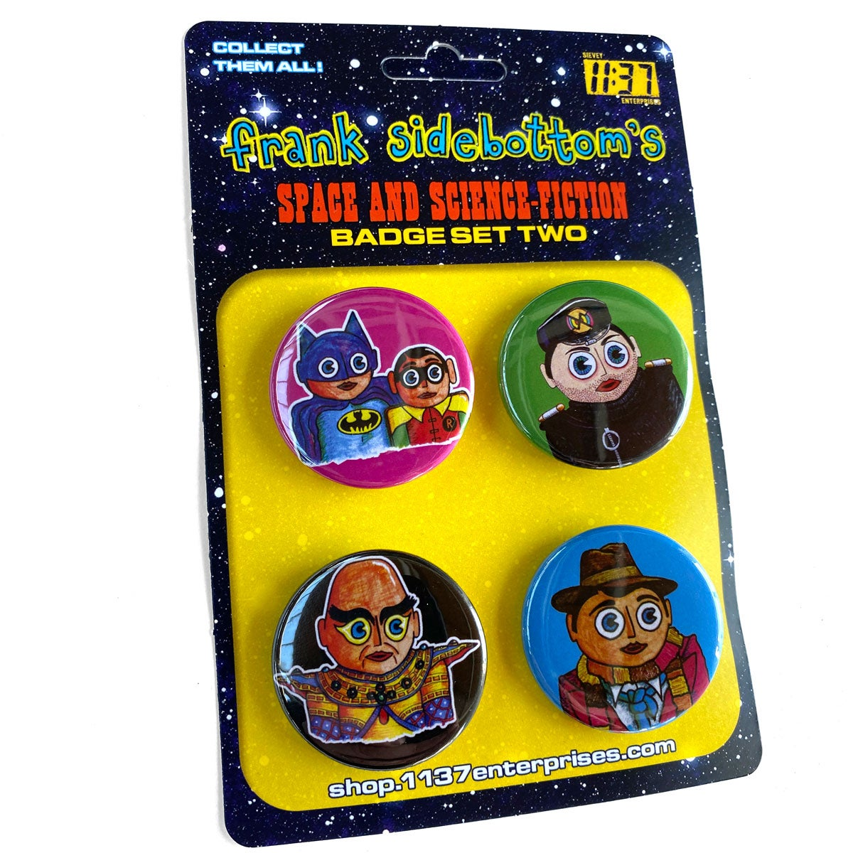 Image of Space and Science Fiction Badge Set 2