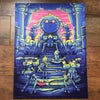 "Dan Mumford ""Rick and Morty"" 18X24 Seven Colour Screenprint 69/150"