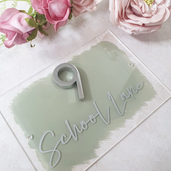 Image of Acrylic House Signs