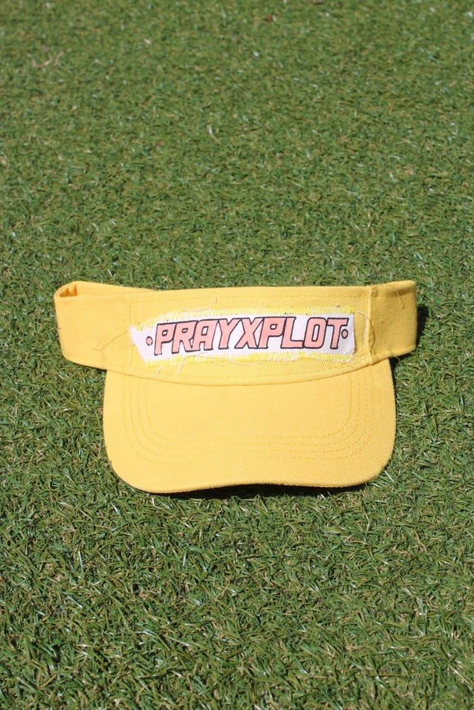 Image of fire visor in yellow