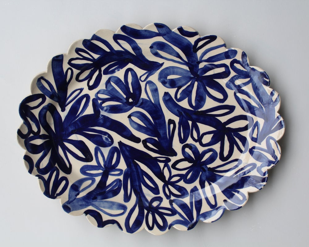 Image of Large Oval Platter