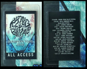 Image of 2019 European Tour Laminates