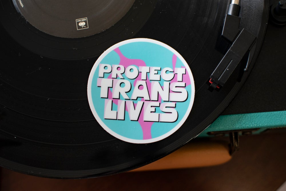 Protect Trans Lives Sticker