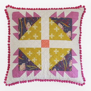 Image of Bear Paw Pillows PAPER Pattern