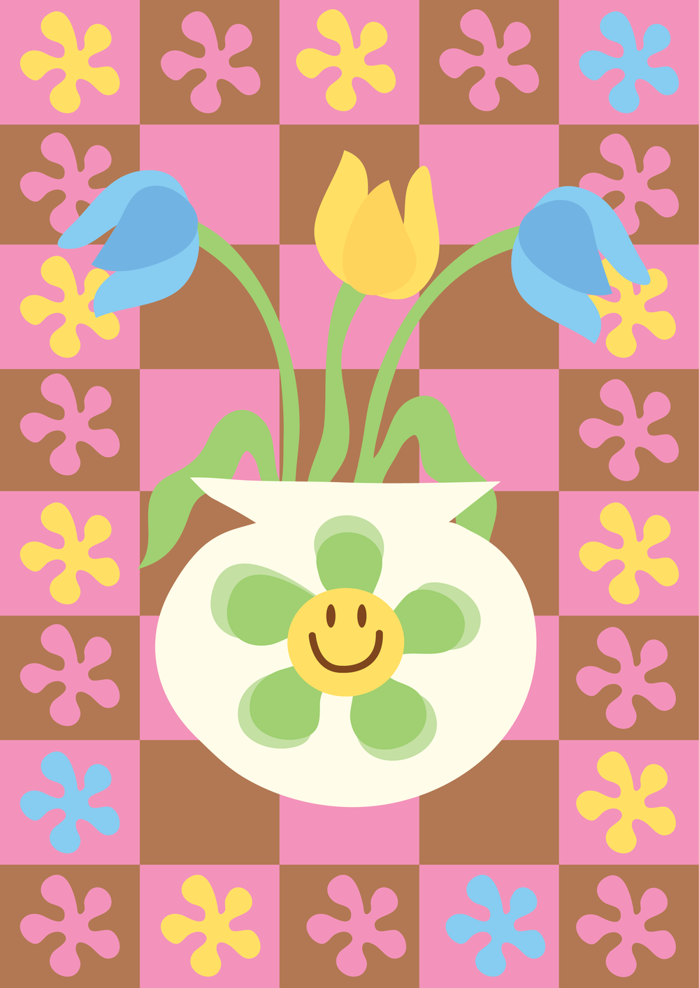 Image of Happy Tulips (pink)