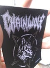 Chain Wolf Woven Patch