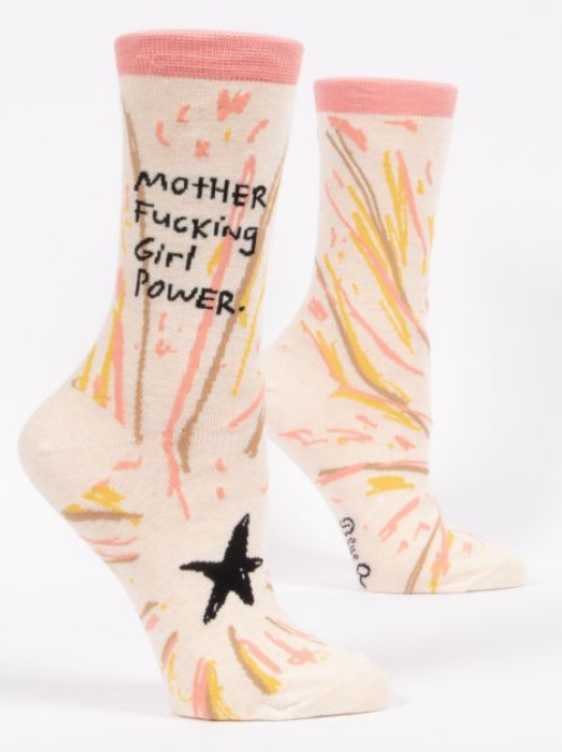 Image of MF Girl Power Crew Socks