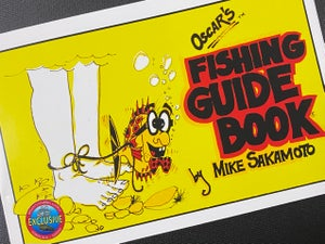 Image of Oscar's Fishing Guide Book by Mike Sakamoto