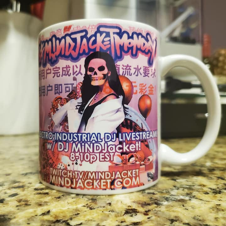 "Image of ""Lucky Lady"" MiNDJACKET Monday Mug!"