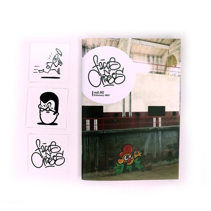 Image of FACES N' CHASES VOL. 02 - RTMONE