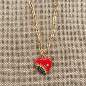 TenThings. Gold. SOMEWHERE OVER THE RAINBOW. Chain. Necklace. N-PC