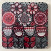 Red Flowers Coaster