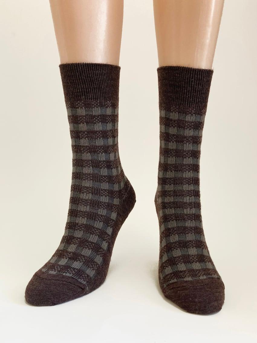 Image of Black Forest - Soft Merino Dress Socks