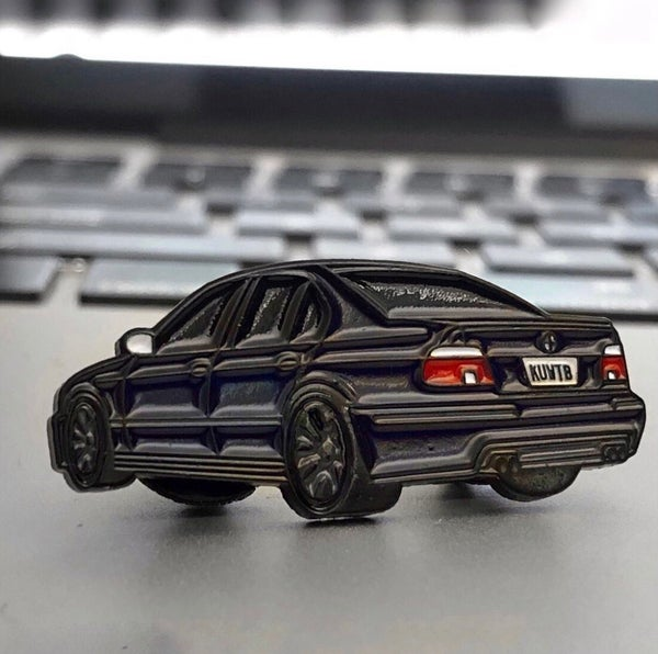 Image of Carbon Black E39 M5 Limited Edition Pin
