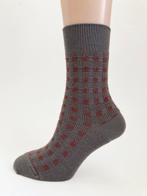Image of Cherry Praline - Soft Merino Dress Socks