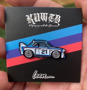 Image of KUWTB X LEEN E9 CSL Limited Edition Pin