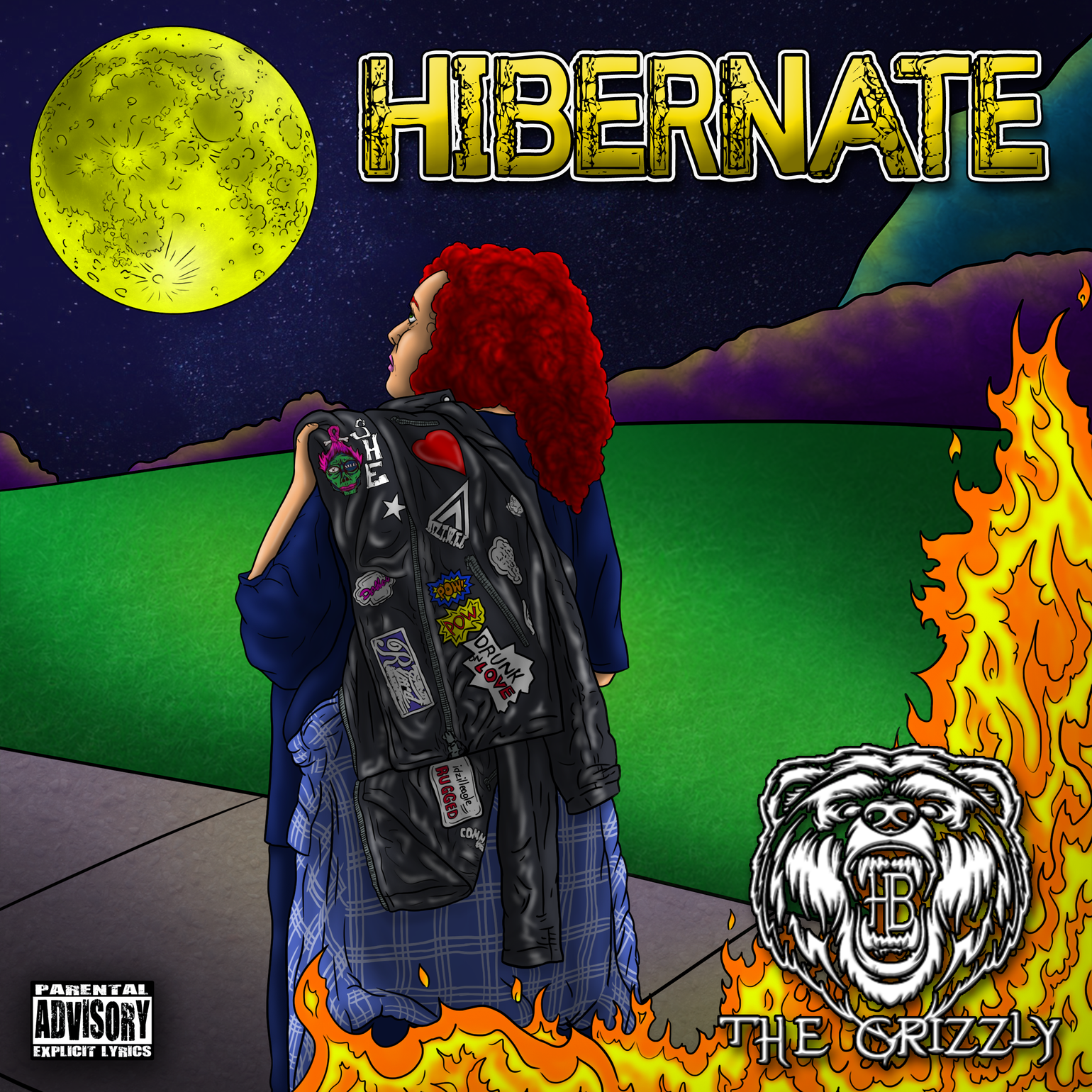"""Image of HB THE GRIZZLY - """"HIBERNATE"""" CD"""