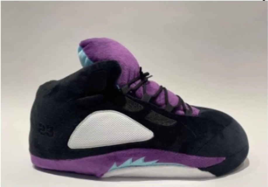 Image of Air Jordan 5- black grape