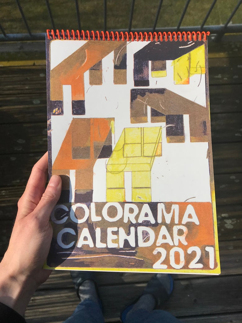 Image of COLORAMA Calendar 2021