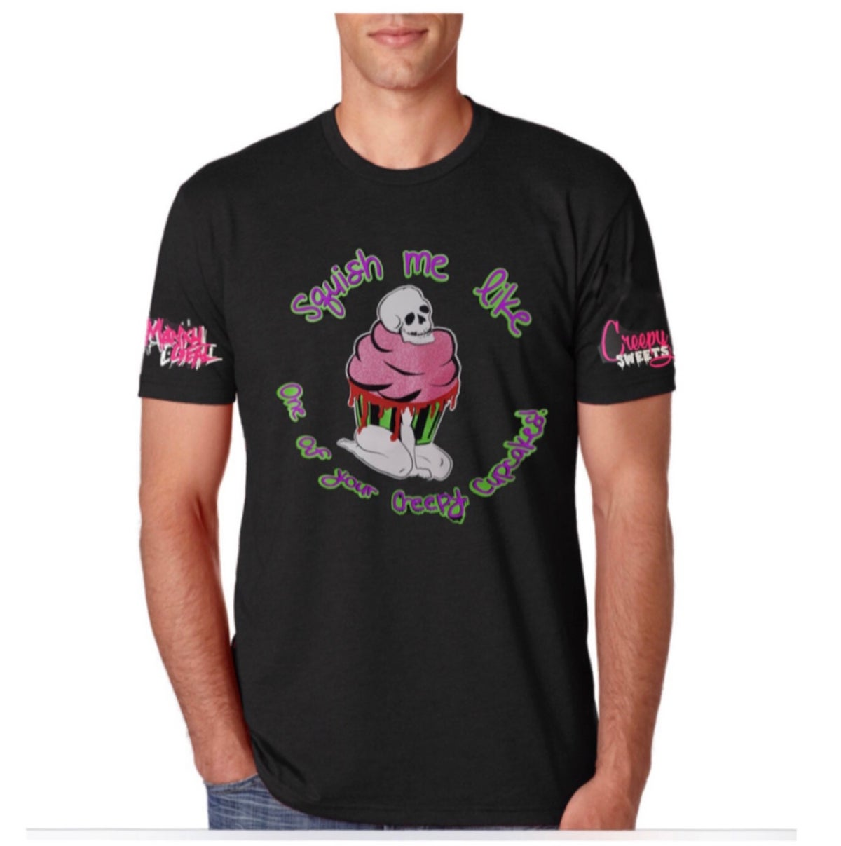 Image of Cupcake Squish Mens Tee