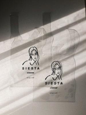 -CLEAR BAG-SIESTA (ONLY AVAILABLE FOR JAPAN) 6,000¥
