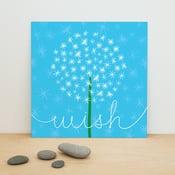 "Image of ""Dandelion Wish"" art print"