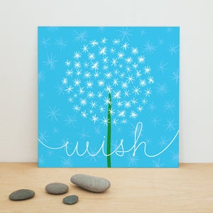 "Image of ""Dandelion Wish"" art print"