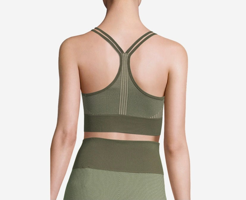 Image of Seamless Sports Top -Northern Green