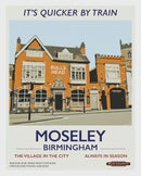 Image 1 of Moseley retro rail poster