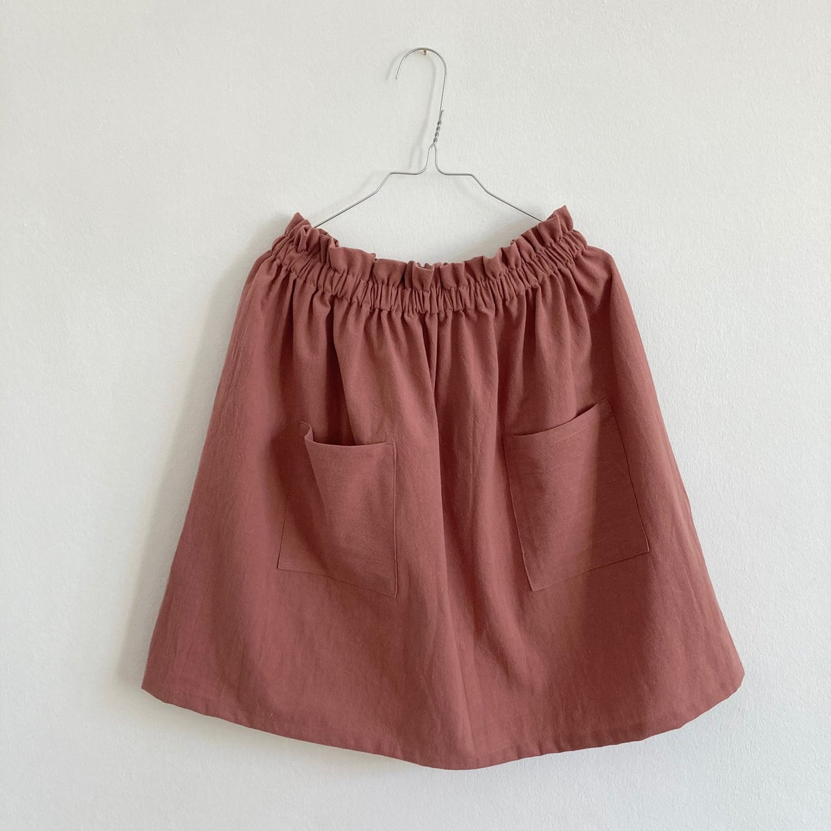 Market Skirt-clay pink