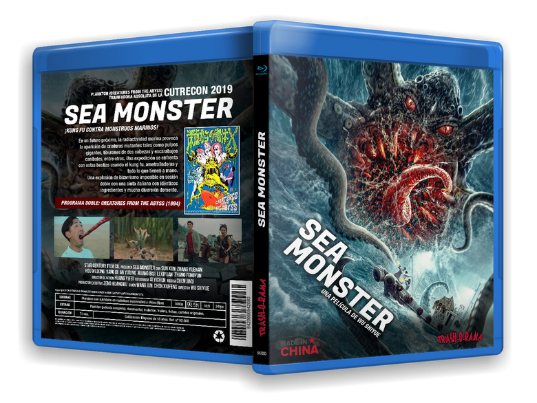 Image of BLURAY SEA MONSTER + PLANKTON (CREATURES FROM THE ABYSS)