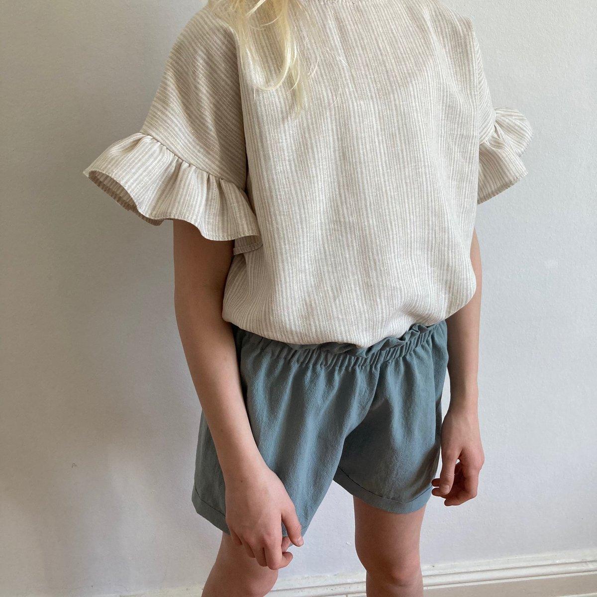 Summer Shorts-old green