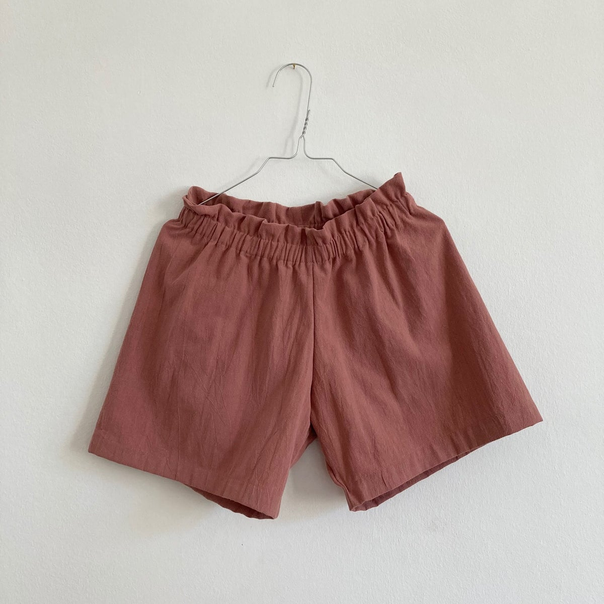 Summer Shorts-clay pink