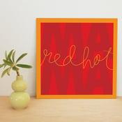 "Image of ""Red Hot Mama"" art print"